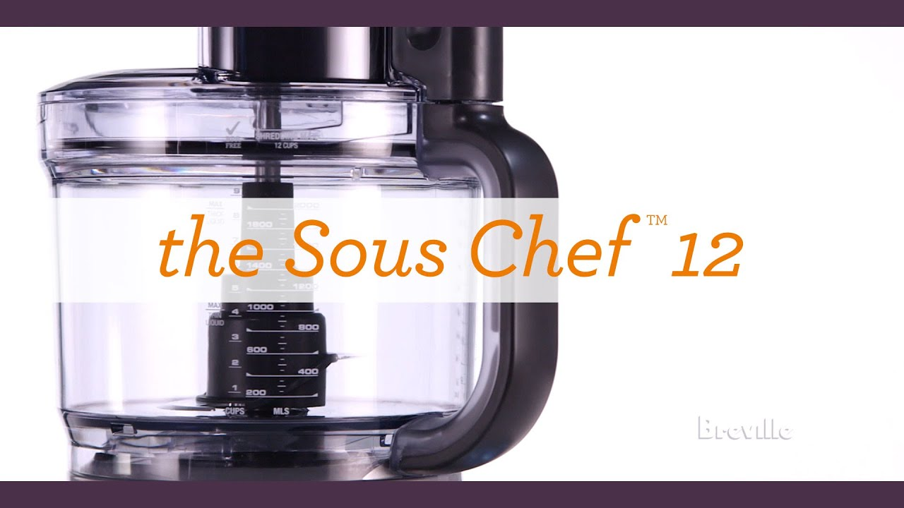 The Sous Chef 12 Plus key features
