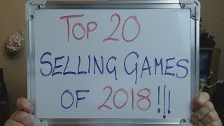The TOP 20 Best SELLING Games of 2018 (Fallout 76 a CONFIRMED TURKEY!!)