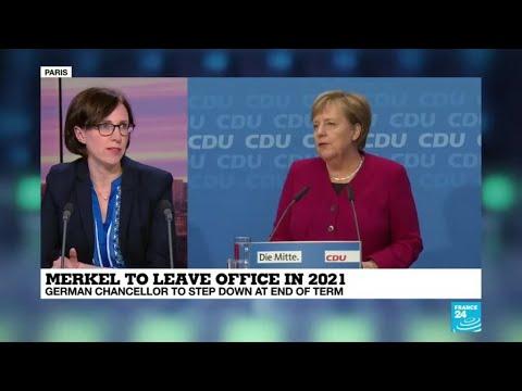 Barbara Kunz on Merkel's announced departure