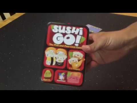 P.E.W. + Games Review: Sushi GO!