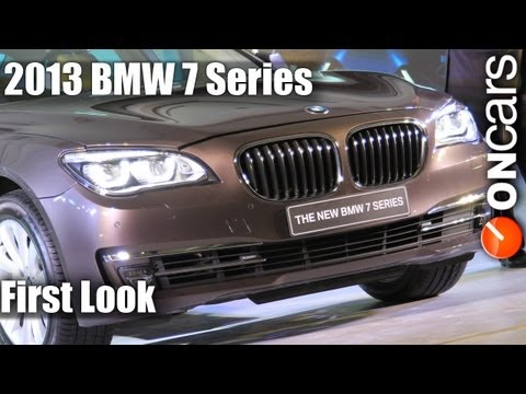 First Look: 2013 BMW 7 series
