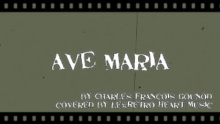 【ukulele@Carpenters】Ave Maria(with lyrics) by Le*Retro Heart Music