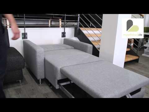 BERLIN DELUXE Schlafsessel mit Schlaffunktion - Relaxfunktion von sofaplus - mysofabed.de
