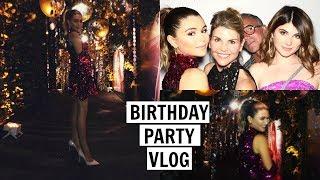 BIRTHDAY PARTY VLOG + what I got for my bday! l Olivia Jade