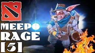 DOTA 2 | Meepo Rage (#5) - РЭМПЭЭЭЙДЖ! НУ... ПОЧТИ (MID Meepo vs. Invoker)