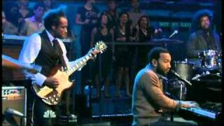 """John Legend and The Roots - """"Hard Times"""" 9/24 Fallon (TheAudioPerv.com)"""
