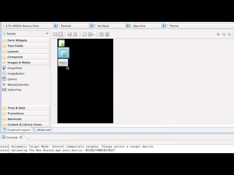 Android Application Development Tutorial - 38 - XML ImageView for Camera Application