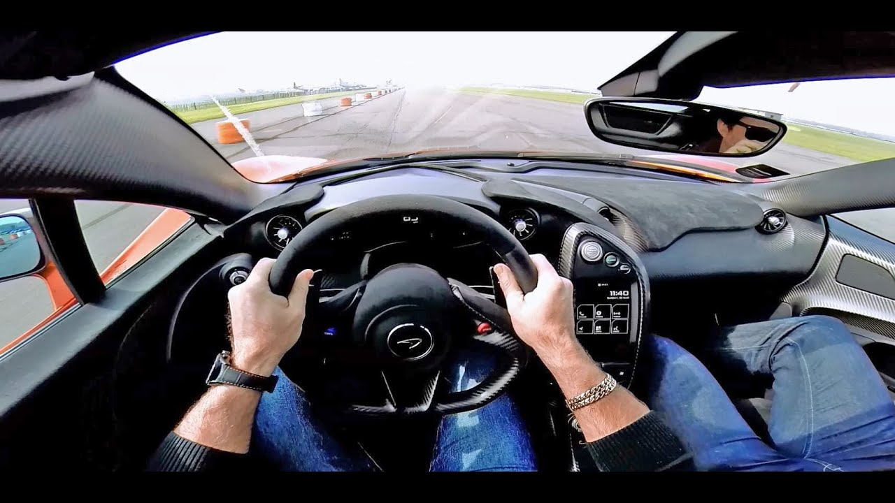 A First-Person Ride In The McLaren P1 Is Exhilarating