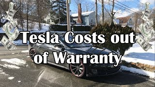 Tesla: The real cost of being out of warranty