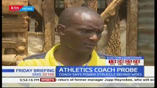 Athletics coach under investigations over allegations of harassment