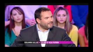 Benjamin Gallais, Ancien Plus Jeune Entrepreneur De France, Invité Sur Canal+