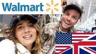 🇬🇧 BRITS EXPLORE WALMART! | First Time in Walmart! 🇺🇸