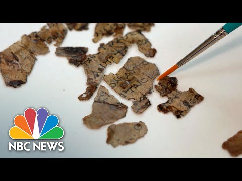 New Fragments Of Dead Sea Scrolls Found In Judean Desert Cave | NBC News NOW