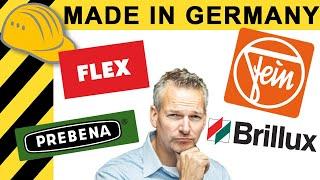 LOHNT MADE IN GERMANY? WAS STECKT HINTER FEIN, FLEX, BRILLUX & CO? | WERKZEUG NEWS 160