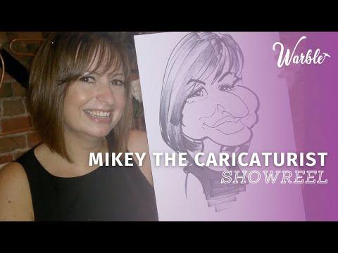 The Midlands Caricaturist Video