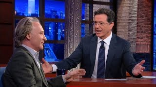Stephen Attempts To Convert Bill Maher