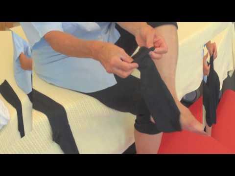 Schwellen die Beine nach der Sklerotherapie an