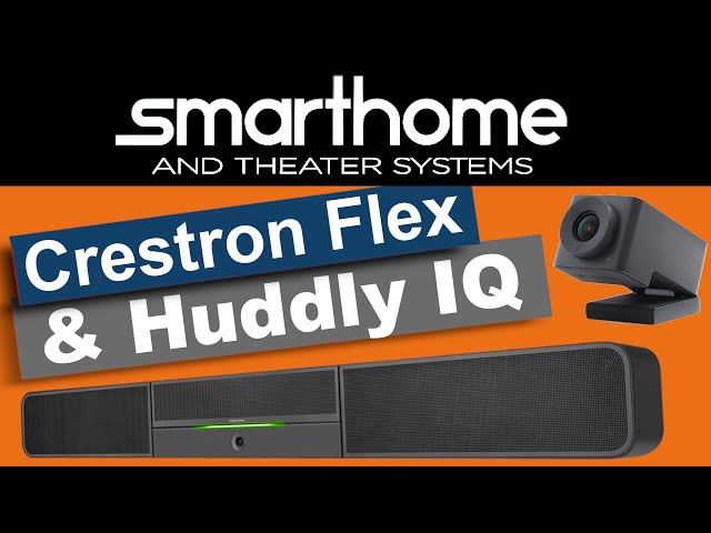 How the Crestron Flex Soundbar with Huddly Camera performs in a large confe...