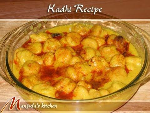 Kadhi Pakoras Recipe by Manjula