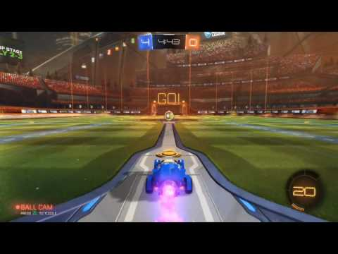 """""""Rocket League: Collector's Edition"""" (Playstation 4/PS4) gameplay, no commentary, no logos, 1080p"""