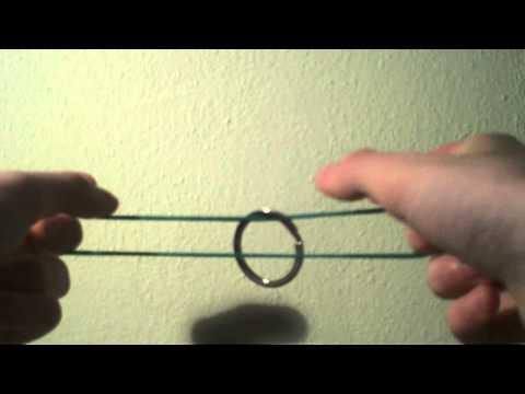Magia con SPIEGAZIONE | Elastico e anello | Rubberband TRICK TUTORIAL