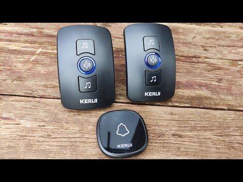 Беспроводной дверной звонок KERUI M525 Wireless doorbell