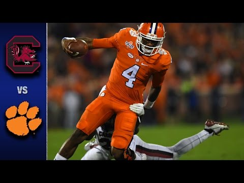 Clemson vs. South Carolina Football Highlights (2016)