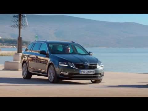 Skoda  Octavia RS Лифтбек класса C - рекламное видео 4
