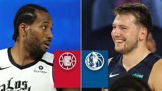 LA Clippers vs. Dallas Mavericks [FULL HIGHLIGHTS] | 2019-20 NBA Highlights