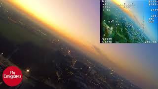 Zohd nano talon sunset flight fpv and raw footage