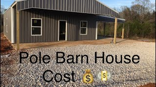 Cost To Build Pole Barn House || Cost Estimate