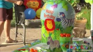 Jungle Animals Party Ideas