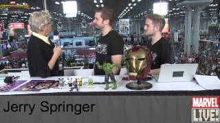 Jerry Springer Talks about Possibly Becoming a Comic Book Character at NYCC 2014