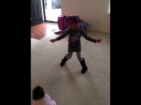 "Ellen Here's My Talent Dance Moves w Simaya ""Treasure Box"""
