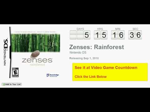 zenses rainforest nintendo ds
