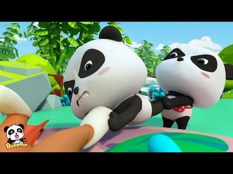 Bayi Panda Menemukan Gua Misterius| Kartun Anak | Bahasa Indonesia | BabyBus |