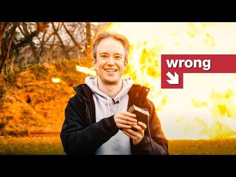 Proč vypadají filmové exploze jinak než ty skutečné