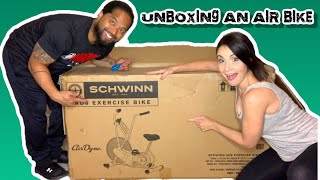 SCHWINN AIRDYNE AD6 RESISTANCE EXERCISE BIKE  BEST CONDITIONING EQUIPMENT FOR HOME WORKOUTS