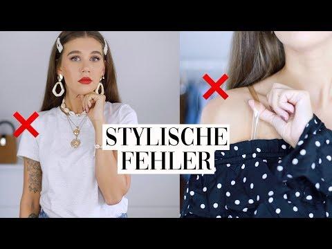 STYLISCHE FEHLER 🙄 TIPPS & TRICKS wie man Kleidung richtig kombiniert