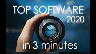 Top 3 BEST Photo Editing Software - in 3 Minutes! [2020]