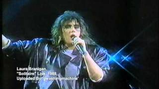 "Laura Branigan - ""Solitaire"" Live, Chile"