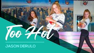 Jason Derulo - Too Hot - Easy Kids Dance Video - Choreography - Baile - Coreo