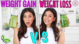 WEIGHT GAIN VS. WEIGHT LOSS SMOOTHIE!🌿Yovana