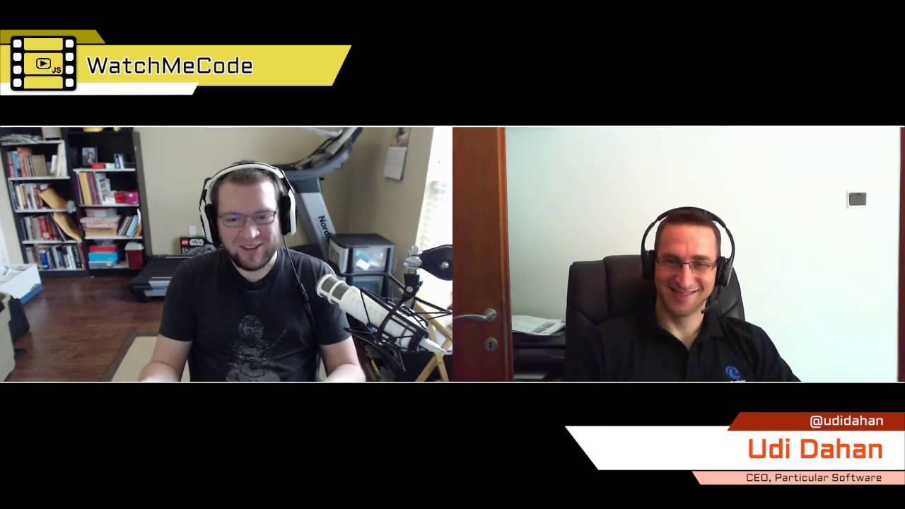 WatchMeCode with Derick Bailey & Udi Dahan