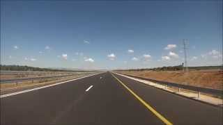 preview picture of video 'כביש 9 - מכביש 4 לכביש 581 - Road 9 from Road 4 to Road 581'