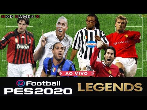 Classic patch Mod Games X PES 2020 - Legends Super PES 2020 `Update V3' Gameplay 6
