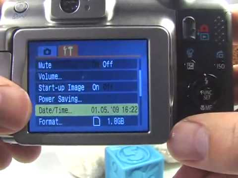 Canon A650 IS: Getting Started