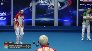 Just. 2019 World Indoor Bowls Championships: Day 4 Session 3