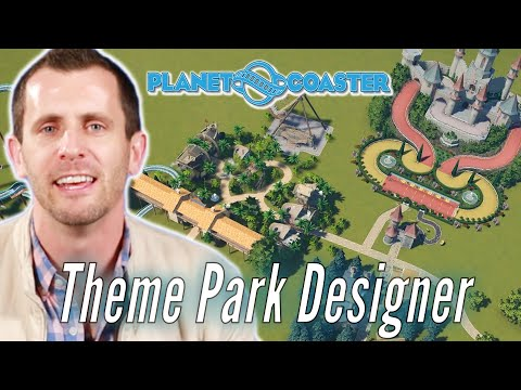 Theme Park Designer Builds His Ideal Theme Park In Planet Coaster • Professionals Play