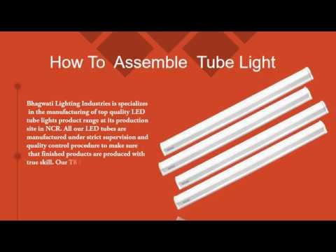 Cool White LED Tube Light